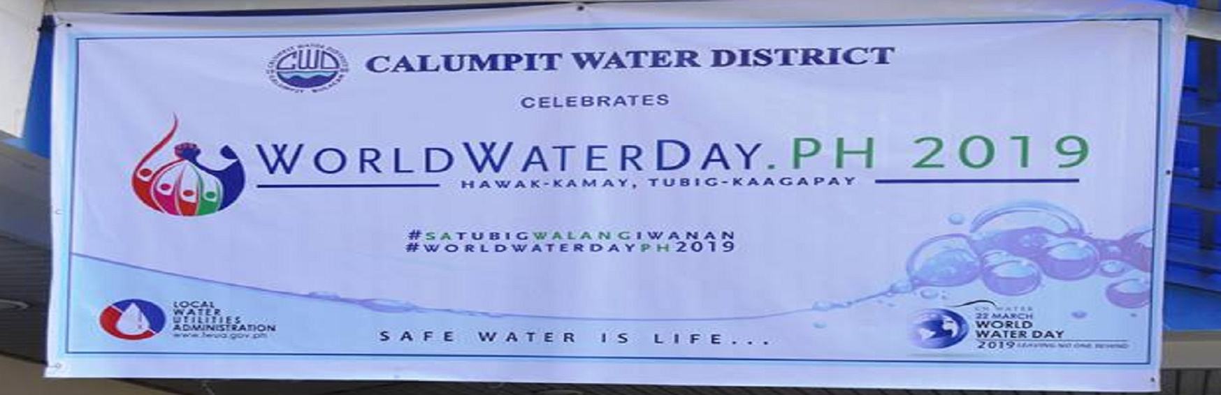 World Water Day 2019 for Banner